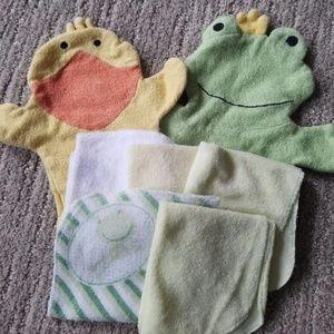 Other - Infant 7 Bath Piece Set